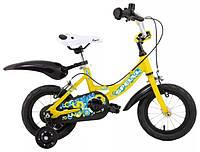 Велосипед SPELLI PONY 12 желтый 2014