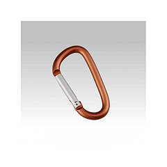 Брелок-карабин Munkees D-Shape Carabiner 6x60mm(2 pcs) 3206