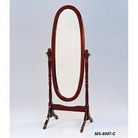 Зеркало напольное овальное DA MS-8007-C