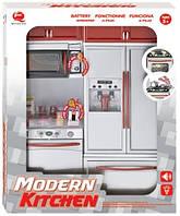 Кукольная кухня Маленькая хозяюшка, красная, набор №4, QunFengToys