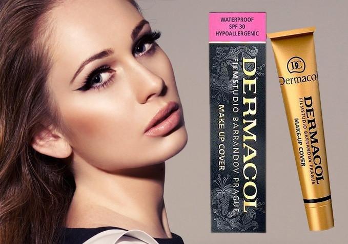 Тональный крем DERMACOL Make-Up Cover, 218 Оригинал Чехия