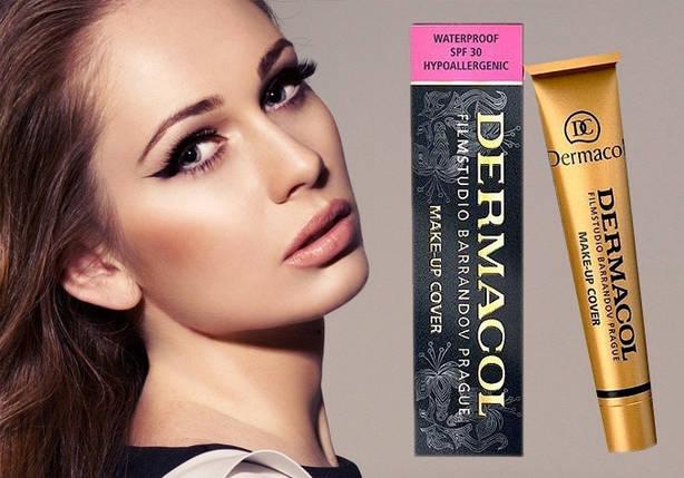 Тональный крем DERMACOL Make-Up Cover, 207 Оригинал Чехия, фото 2