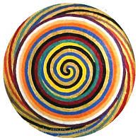 """Декоративная тарелка диаметром 42 см """"Лабиринты Эхо""""  шамотной трипольской глины станет изысканным"""