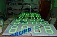 Табло для АЗС 1400x400x40 на зеленых матовых светодиодах, фото 3