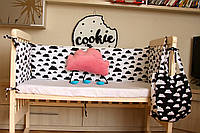 "Бампери у дитяче ліжечко ""Хмаринки ХБ"""
