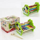 Деревянная игра Счёты-Ксилофон 0515  в коробке