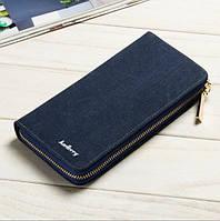 Клатч портмоне Baellerry Denim s6032bl синий, фото 1