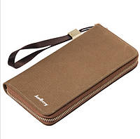 Клатч портмоне Baellerry Denim s6032br коричневый, фото 1