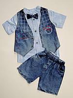 Летний костюм на мальчика 3,4,5,6 лет