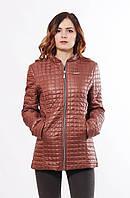 Стильная коричневая куртка Саша 2-К 44-68 размеры