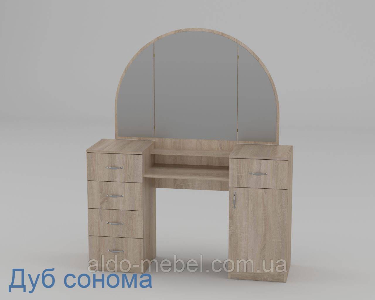 Трюмо - 5 Габариты Ш - 1400 мм; В - 1700 мм; Г - 420 мм (Компанит)
