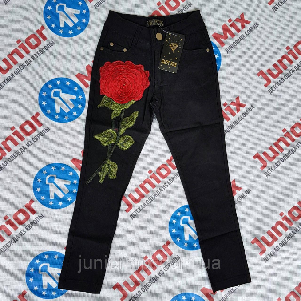 Дитячі штани на дівчинку з трояндою HEPPY STAR