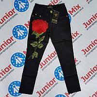 Детские брюки на девочку с розой HEPPY STAR, фото 1