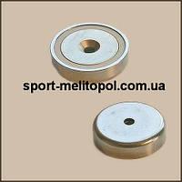 Магнит в метал. корпусе под потай А48 D48- 8,5/16 х Н11,5 мм
