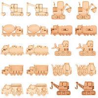Заготовки для декорирования Грузовые машины