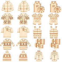 Заготовки для декорирования Мужская одежда