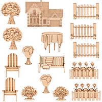 Заготовки для декорирования Загородный дом