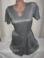 """Платье женское полубатал (шифон,масло) сексуальное """"Assorti"""" R-4473"""