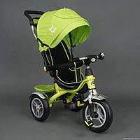 Детский трёхколёсный велосипед 5388 САЛАТОВЫЙ