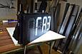 Табло для АЗС 1400x400x40 на оранжевых матовых светодиодах, фото 8