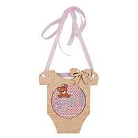 Набор для вышивания бисером c фигурной рамкой Бодик (Girl)