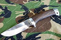 Нож охотничий рукоять дерево Венге, чехол в комплекте
