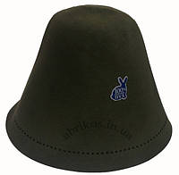 Фетровые шапки для сауны (НАТУРАЛЬНЫЙ КРОЛЯЧИЙ ПУХ)