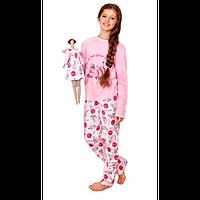 Піжама для дівчинки , Розмір одягу 122