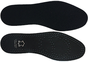 Стельки кожаные с влагопоглащающей основой СТ-3