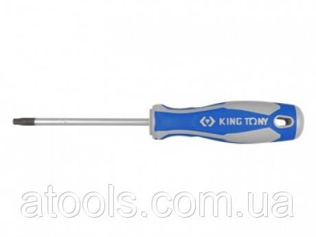 Отвёртка TORX T10 x 75 с отверстием KINGTONY 14271003