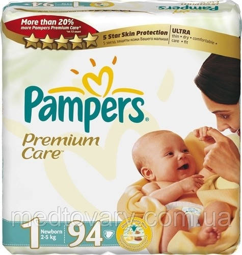"Подгузник ""Pampers"" Premium Care  p.1 (2-5 кг) №94"