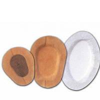 Пластырь +103 для глаз 5см х 6,2 см, стерильный №1 нетканый (черная подушечка)