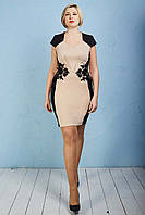 Праздничное элегантное платье женское р.48-52 V274-1