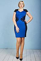 Праздничное элегантное платье женское р.48-52 V274-3