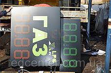 Электронное табло для АЗС 850x350x40 на красных светодиодах, фото 3