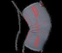 Бандаж на коленный сустав вязаный р. L серый R6101
