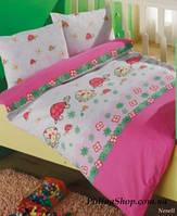 """Детский комплект постельного белья в кроватку ALTINBASAK """"Nasely"""" розовый"""