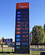 Електронне табло стел для АЗС, марка палива поноцветные модулі, фото 9