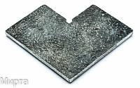 Профиль рамочный алюминиевый угол Z4  ДС (остроконечный) (БС)