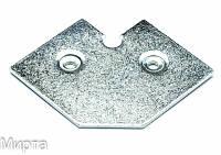 Профиль рамочный алюминиевый угол Z4 Польша (БС)