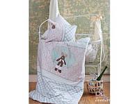 Постельное белье для младенцев Karaca Home - Deer апликация зеленое