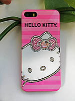 Пластиковый чехол Hello Kitty iPhone SE/5S/5, Привет Китти