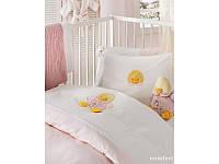 Детский набор в ванную для младенцев Karaca Home - Duck розовый