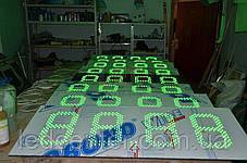 Светодиодное табло для АЗС 700x250x50, фото 2