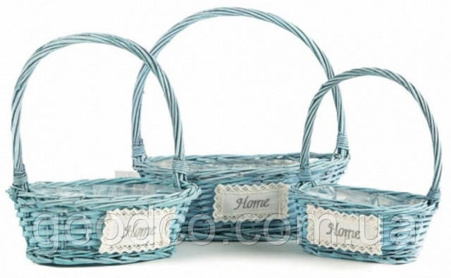 Плетеные декоративные корзины