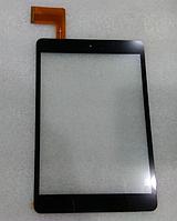 Оригинальный тачскрин / сенсор (сенсорное стекло) для Explay SM2 3G (черный цвет, тип 2, самоклейка)