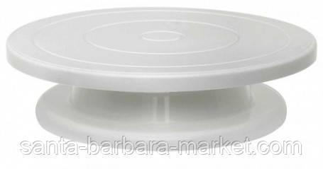 Подставка для торта вращающаяся(низкая)  Ф=28х6,5см