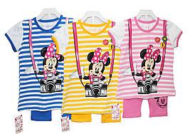 Дитячі костюми трикотажні для дівчинки Canisi 2442