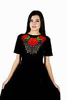 Плаття вишите жіноче М-1056 різні кольори, фото 1
