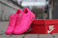 Nike Air Max Hyperfus женские кроссовки (Найк Аир Макс Гиперфьюз) код 4672 ярко розовые